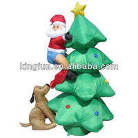 2014 Hot sale attrative inflatable Christmas Tree
