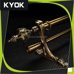 China manufacturer fashion home decoration metal curtain rods,high quality metal curtain brackets