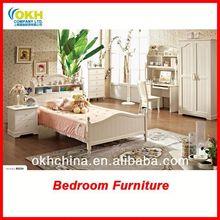 Storage Headboard Wooden Bed Design