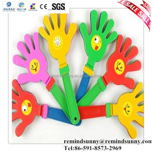 Custom Eco Plastic Toys Hand Clappers /Sports Clap Hands