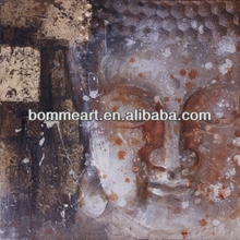 New! 100%hand made, morden art figure of Buddha oil painting&canvas painting&wall picture&&wall art&oil paint by numbers