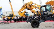 mini wheel excavator XE60W