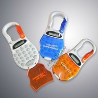 8 Digits Mini Pocket Carabiner Calculator with Flip Cover