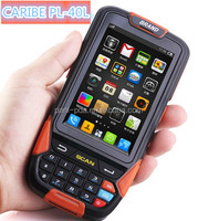 "CARIBE PL-40L AO 006 4"" IP65 dual core rugged touch screen android pda phone with barcode scanner"