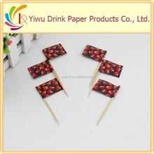 Cupcake cherry topper stick wholesale