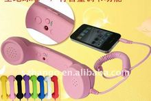 super low price mobile phone handset compatible with all the brand mobile with answering button volume key