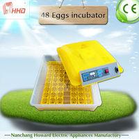2015 best selling chiken farm equipment/ mini egg incubator with full automatic YZ8-48