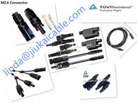 TUV certification water proof IP67 solar system MC4 connector