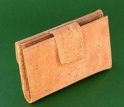 2015 Newest Design Luxury Eco-friendly Natural Cork Wallet Wood Wallet