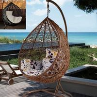 cheap swing waterproof rattan egg chair