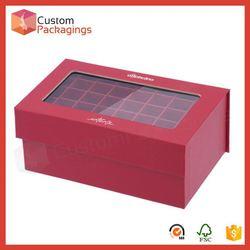 Shanghai Timi hair extension cosmetic box for false hair packaging