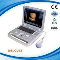 MSLCU18K Portable Color Doppler Ultrasound Scanner ultrasound 4d ultrasound hot sale dog medical machine