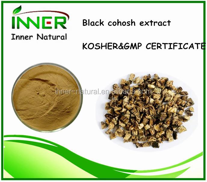 Negro Cohosh Extract con libres triterpeno glucósidos