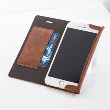 JOYROOM England Style PU Leather Wallet Case with Card Slot For iPhone 6/6s Luxury Flip Magnetic Cover Case MT-4895