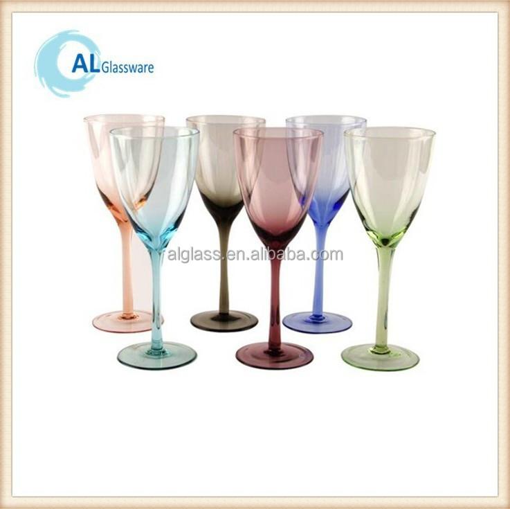 Colored Wine Glass Stemware Gift Boxes Wholesale Colored