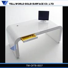 Artificial Marble customized computer office desk boss desk