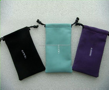 Custom soft velvet cell phone bag manufacturer