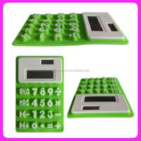 Hot sale silicone calculator,flexible rubber calculator, calculator components
