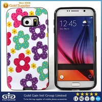 [GGIT] Custom design 2d tpu+pc sublimation phone case for galaxy s6