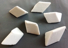 Supply of high-quality corundum are oblique triangle abrasive polishing block polishing block roll grinding stone jewelry deburr