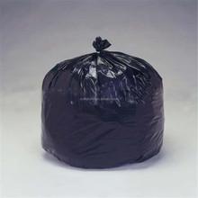 33 GAL(124L) biodegradable value packed heavy duty black plastic trash bag, recycled black waste bag
