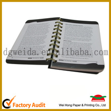 A4/A5/A6 Hard Cover Custom Note Book / diary book With Color Pages