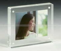 Acrylic Magnetic Photo Block,Acrylic Magnetic Double Sided Picture Frame