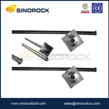 SINOROCK galvanized mining roof support split set rock bolt