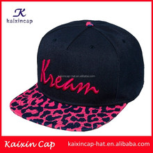 wholesale promotional flexfit custom-made navy blue flat brim fashion design your logo embroidery baby hat snapback caps