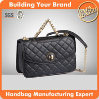 3886-2016 famous branded women handbags fashion yiyi leather ladies cross body hand bag wholesale