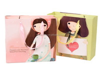 Top quality new design promotional cosmetic paper bags