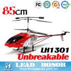 Marca modelo 85cm 3.5ch lh1301 modelo big helicóptero de controle remoto para as crianças