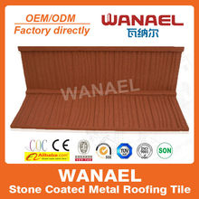 Shake Wanael stone roof tile/interlocking roof shingles/improved substitute of spanish clay roof tile