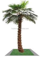 artificial mini palm trees, mini plastic palm trees, miniature plastic palm tree