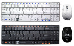 Mini Wireless Mouse and Keyboard for Laptop