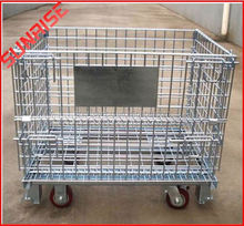 foldable galvanized chrome cage