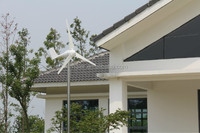 400w 24v wind generator high efficient ac alternative energy