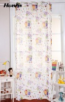 fancy modern kids living room door curtains for baby,curtain fabric with lovely printing