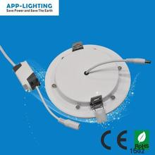 12W ultra thin plastic led panel lights CE ROHS approval IP54 Warm white