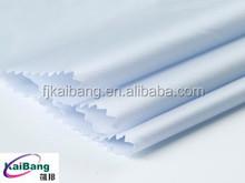 Light Blue Nylon Satin Weaving Fabrics for Clothes or Down Coats