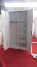 custom storage clothing locker with printed tree image