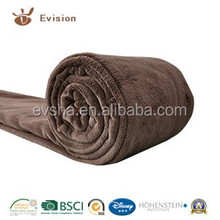2015 NEW Coral Fleece Blanket With Solid Color