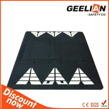road way system anti skid textured hdpe rig mats/hdpe track mat/ground protection mat ground mat