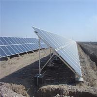solar mounting ground screw ground solar mount bracket aluminium solar panel installation