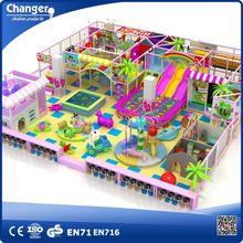 Special indoor playground with trampoline for sale, indoor naughty castle play park