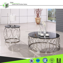 CT31 Modern design glass center table design with price