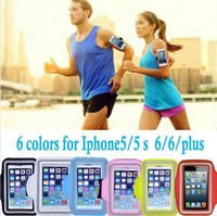 Brazalete deportivo waterproof running case funda movil deporte sport running arm band sport armband for iphone 5 5s 5c