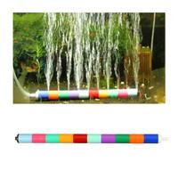 Fish Tank Supplies Oxygen Pump Stitching Bubble Gas O2 Bar Pump Combination Colorful Plastic Aquarium Landscaping Accessorie