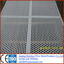Stainless Steel Perforated Metal Mesh/Perforated Sheet/perforated plastic mesh panel