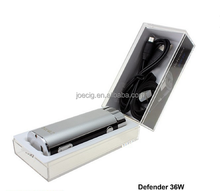 2015 new technology box mod ecig Joecig Defender 36w box mod temperature control vaporizers